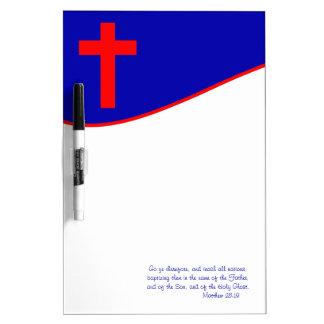 インスパイアキリスト教の旗 ホワイトボード