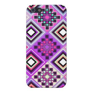 インスパイア紫色の先住民 iPhone 5 CASE