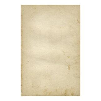 インスパイア老化させた空白のなアンティークによって汚されるペーパーレトロ 便箋