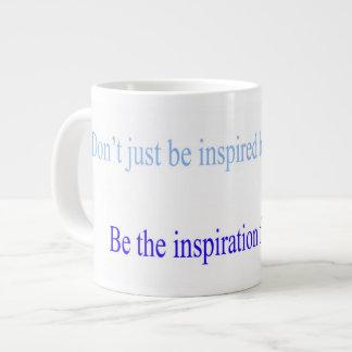 インスピレーションのマグ ジャンボコーヒーマグカップ