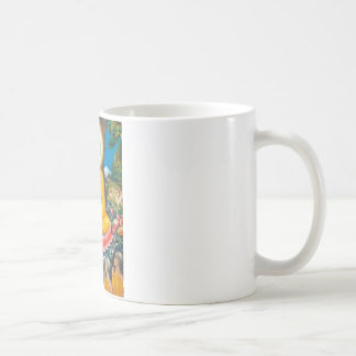 インスピレーションの木の下に坐っている仏 コーヒーマグカップ