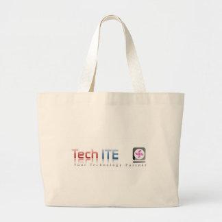 インターネットのギークのためのバッグ ラージトートバッグ