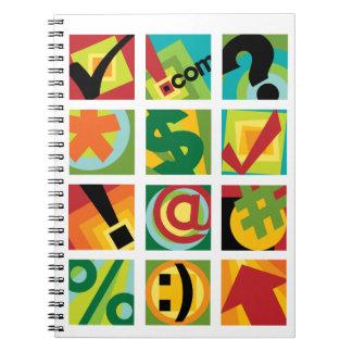 インターネットのデザイン ノートブック