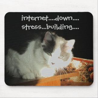 インターネットの分離不安の攻撃 マウスパッド