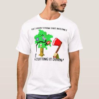インターネットの樵 Tシャツ