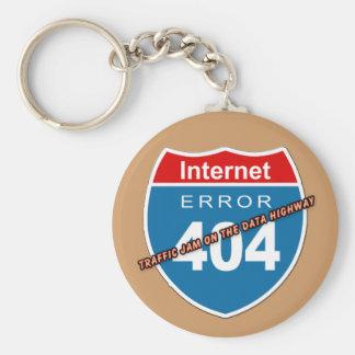 インターネットの間違い404 キーホルダー