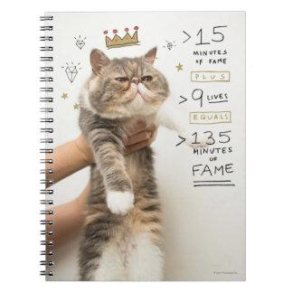 インターネット猫Celeberity ノートブック