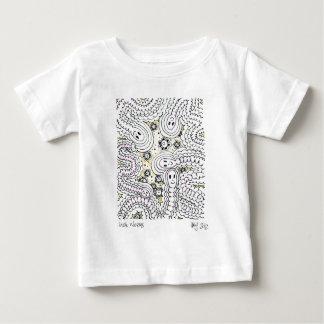 インチみみず ベビーTシャツ