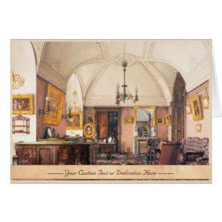 インテリアの冬宮殿のUkhtomskyコンスタンチーンのペンキ カード