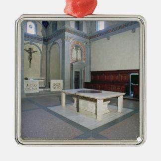 インテリアの眺め、造られたc.1420-29 (写真) メタルオーナメント