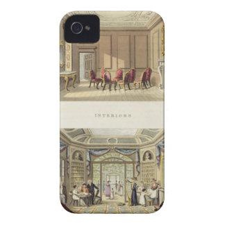 インテリア: 古いヒマラヤスギパーラーおよびモダンな李 Case-Mate iPhone 4 ケース