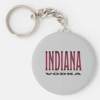 インディアナのウォッカのキーホルダー キーホルダー
