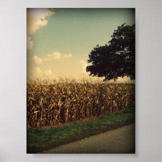 インディアナのトウモロコシ ポスター