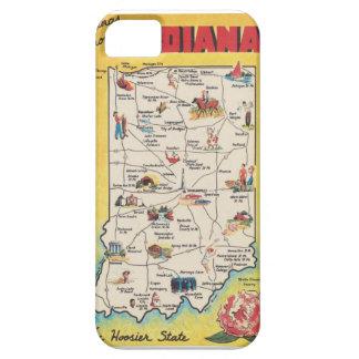 インディアナのヴィンテージのIphone 5の場合からの挨拶 iPhone SE/5/5s ケース