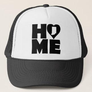 インディアナの家のハートの州の球の帽子のトラック運転手の帽子 キャップ