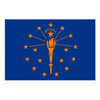 インディアナの旗 ポストカード