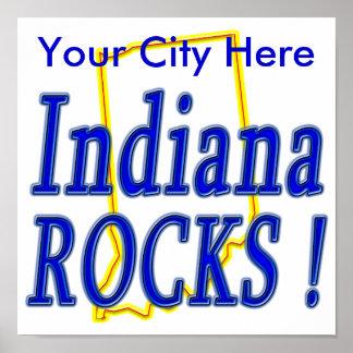 インディアナの石! ポスター