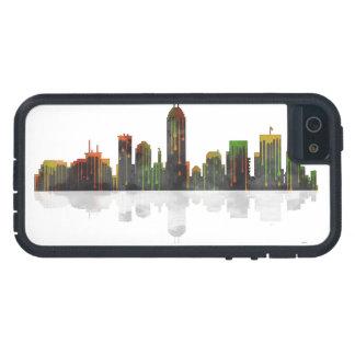 インディアナインディアナポリスのスカイライン iPhone SE/5/5s ケース