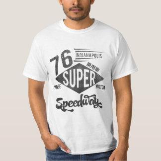 インディアナポリスによってすごい高速自動車道路 Tシャツ