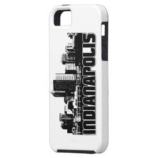 インディアナポリスのスカイライン iPhone SE/5/5s ケース