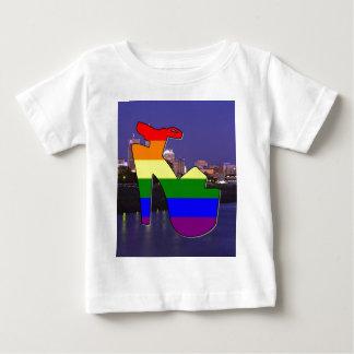 インディアナポリスのプライド ベビーTシャツ