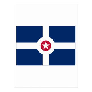 インディアナポリスの旗 ポストカード