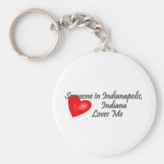 インディアナポリスの誰かは私を愛します キーホルダー