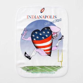 インディアナポリスの騒々しく、誇りを持った、贅沢なfernandes バープクロス