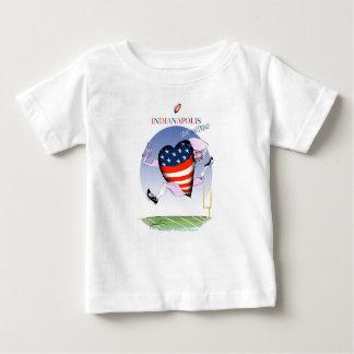 インディアナポリスの騒々しく、誇りを持った、贅沢なfernandes ベビーTシャツ