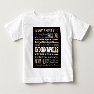インディアナポリスの魅力そして有名な場所 ベビーTシャツ