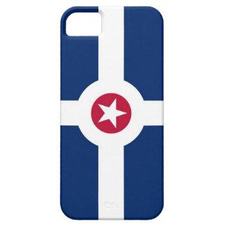 インディアナポリスアメリカ都市旗の箱 iPhone SE/5/5s ケース