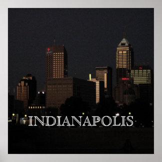 インディアナポリス夜 ポスター