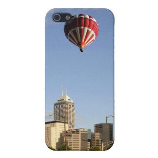 インディアナポリス都市スカイライン iPhone 5 ケース