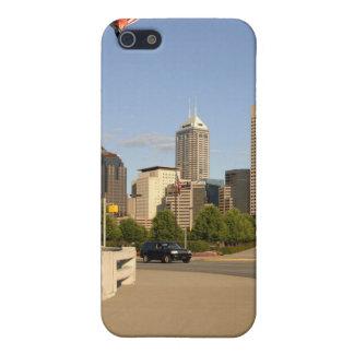 インディアナポリス都市スカイライン iPhone 5 COVER