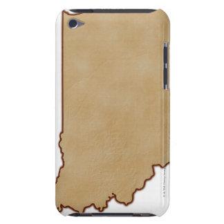 インディアナ2の立体模型地図 Case-Mate iPod TOUCH ケース