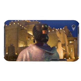 インディアンが付いているアドービれんがの建物を、つけるランタン Case-Mate iPod TOUCH ケース