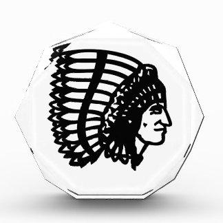 インディアンの酋長 表彰盾