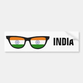インディアンはカスタムな文字及び色のバンパーステッカーを影で覆います バンパーステッカー
