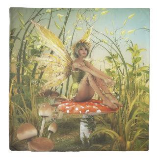 インディアンサマーの妖精の(1つの側面)女王の羽毛布団カバー 掛け布団カバー