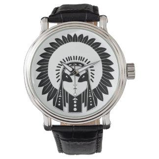 インディアン及びエイリアンの腕時計 腕時計