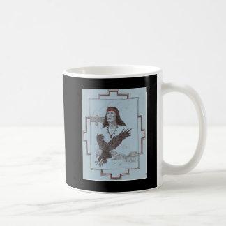 インディアン及びワシ コーヒーマグカップ
