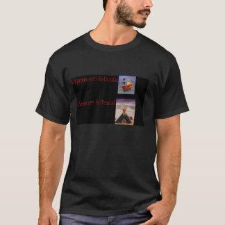 インディアンv.s.の巡礼者 tシャツ