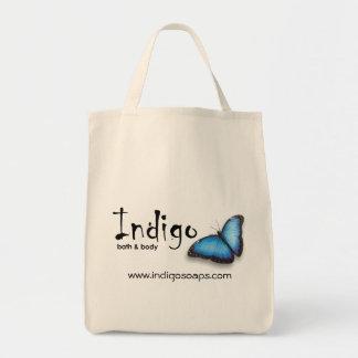 インディゴのバッグ トートバッグ
