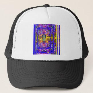 インディゴの紫色のエコー、Sharles著金ゴールドのギフト キャップ
