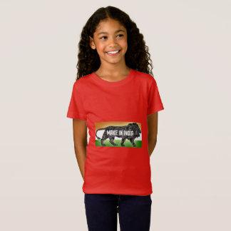インドで作って下さい Tシャツ