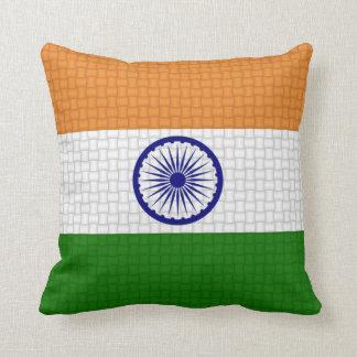 インドのインディアンの旗 クッション