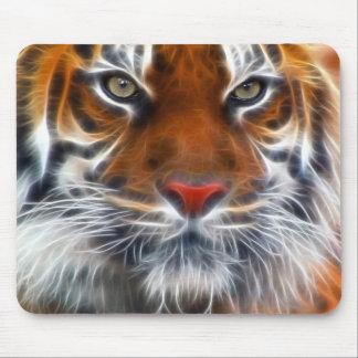 インドのジャングルの主、王室のなベンガルトラ マウスパッド