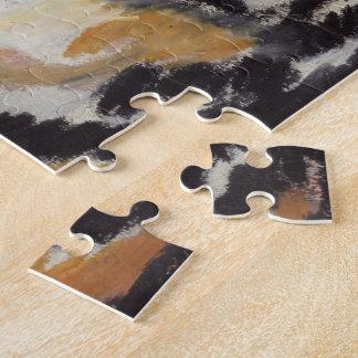 インドのトラのパズル ジグソーパズル