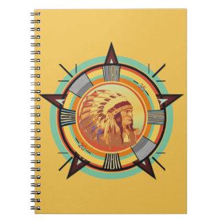 インドのヘッドテストパターンのノート ノートブック
