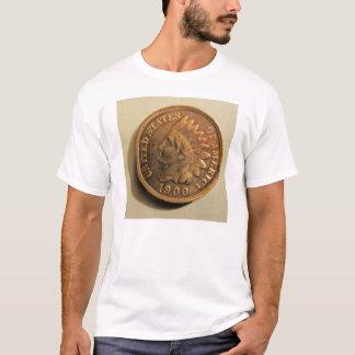 インドのヘッドペニーのワイシャツ Tシャツ